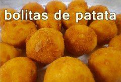 Bolitas de Papa / Patata