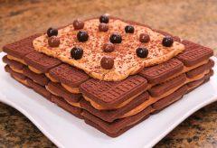 ChocoTorta: Tarta de Galletas y Dulce de Leche sin Horno