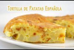 Cómo cocinar la auténtica Tortilla de Patatas Española