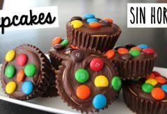 Cómo hacer Cupcakes sin horno y solo 5 ingredientes