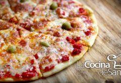 Cómo hacer pizza casera y masa para pizza en recetas caseras