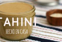 Cómo hacer tahini en casa – Mantequilla de Ajonjolí o Sésamo