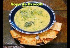 Cómo hacer una sopa de brocolí