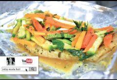 Cómo preparar pescado empapelado / Recetas Light