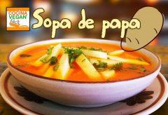 Cómo preparar una deliciosa sopa de papa (patata)