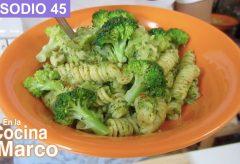 Preparar un plato de Pasta con Brocoli