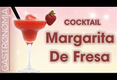 Receta del Cocktail Margarita de Fresa