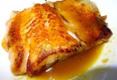 Cómo preparar un deliciosos salmón con salsa de naranja