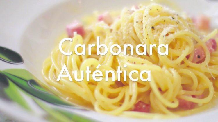 Cómo preparar unos espaguetis a la Carbonara auténticos