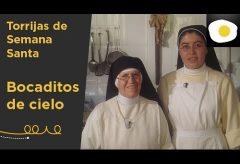 Preparación de las auténticas torrijas de Semana Santa por dos monjas