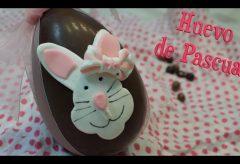 Preparar unos huevos de chocolate y decorados con Fondant para Pascua