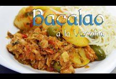 Receta para la preparación de un bacalao a la Vizcaína según María Zepeda