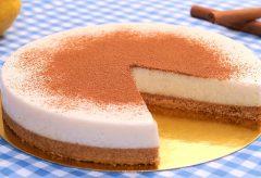 Cómo hacer una tarta de arroz con leche sin horno y por poco más de 2 euros #tartapormenosde3euros