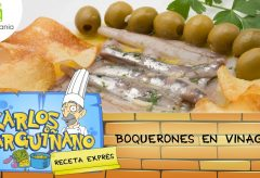 Cómo preparar los boquerones en vinagre / Karlos Arguiñano