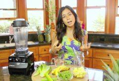 Cómo preparar un licuado verde para ayudar a quemar grasa y adelgazante