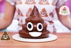 Cómo preparar un pastel de emoji de caquita o caca o popó o…