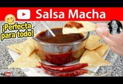 Cómo preparar una salsa Macha: una delicia picante en tu mesa / Cocinas Mexicana