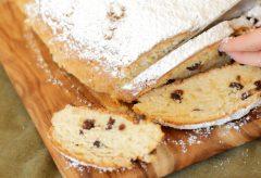 Cómo preparar el conocido pan navideño alemán o Stollen / Wie man einen Christstollen zubereitet