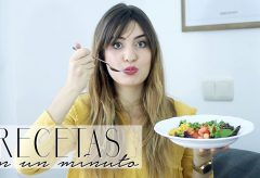 3 ensaladas riquísimas en solo 1 minuto