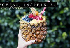 3 recetas fantásticas con frutas para sorprender