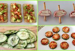 4 snacks saludables y fáciles