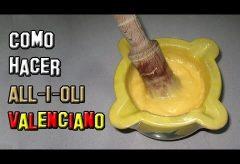 Cómo preparar un delicioso Alioli o All-i-oli valenciano fácilmente