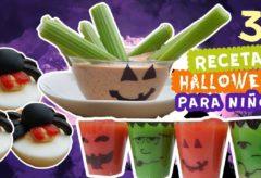 3 recetas de Halloween fáciles y sin horno