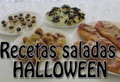 4 recetas saladas para Halloween