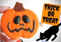 Cómo decorar Galletas de Calabaza para Halloween