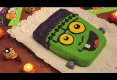 Cómo preparar una tarta Frankenstein para Halloween