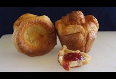 Popovers, los bollitos de pan con solo 3 ingredientes