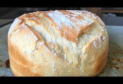 Preparar un pan casero fácil y rápido con harina común