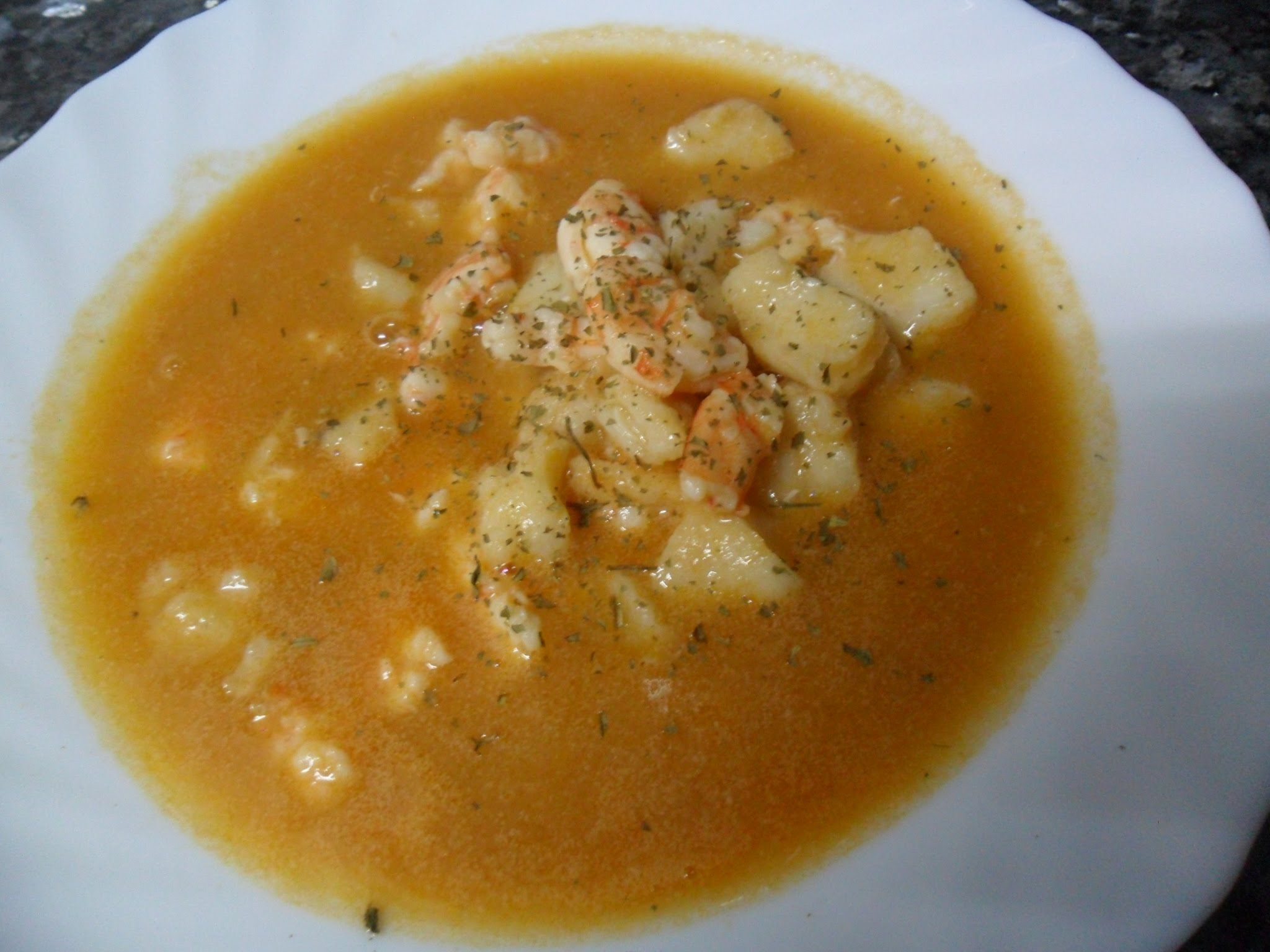 Preparar una sopa de pescado f cil r pida y econ mica - Videos de cocina facil ...
