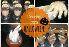 Recetas fáciles para Halloween