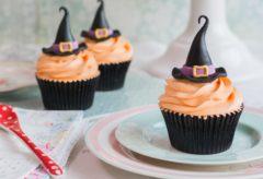 Sombreros de Brujas / Cupcakes de Halloween.