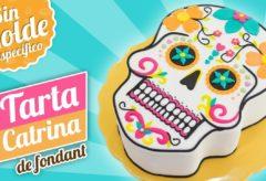 Tarta de Catrina o Calavera Mexicana para Halloween