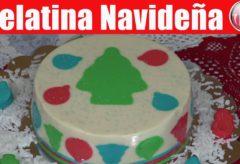 Cómo cocinar una gelatina de Queso Crema Navideña