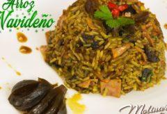 Cómo hacer un rico arroz navideño