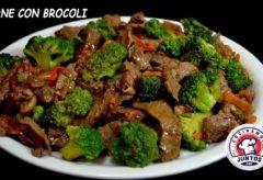Cómo hacer una exquisita Carne con Brócoli