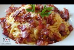 Cómo hacer unos deliciosos Espaguettis a la carbonara
