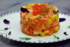 Cómo preparar un rico tartar de Salmón