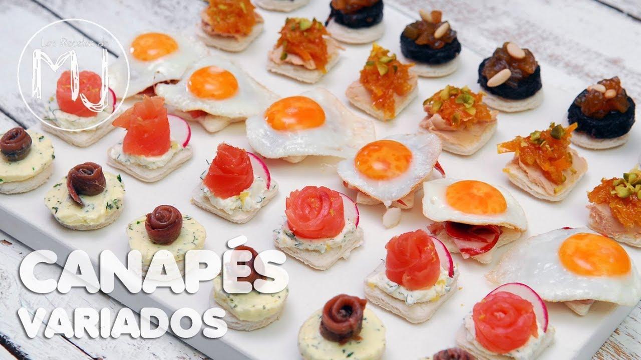 Preparar 5 deliciosos canap s para fiestas v deos de for Cocina para fiestas