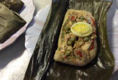 Preparar ricos tamales o hayacas ecuatorianas para Navidad