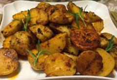 Preparar una ricas papas/patatas al Horno