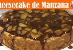 Receta de una cheesecake de Manzana