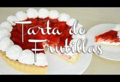 Receta de una Tarta de Frutilla y Gelatina
