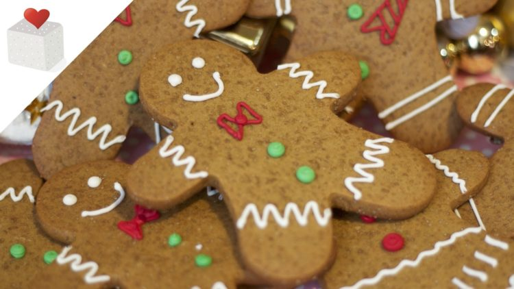 Receta para preparar una deliciosas galletas de Jengibre en Navidad