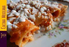 Receta para preparar unas Entomatadas de queso