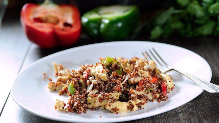 Cómo hacer un rico Pollo con quinoa