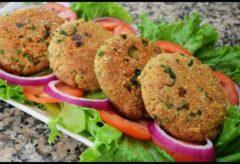 Cómo hacer una receta de Tortitas de Quinoa y Atun